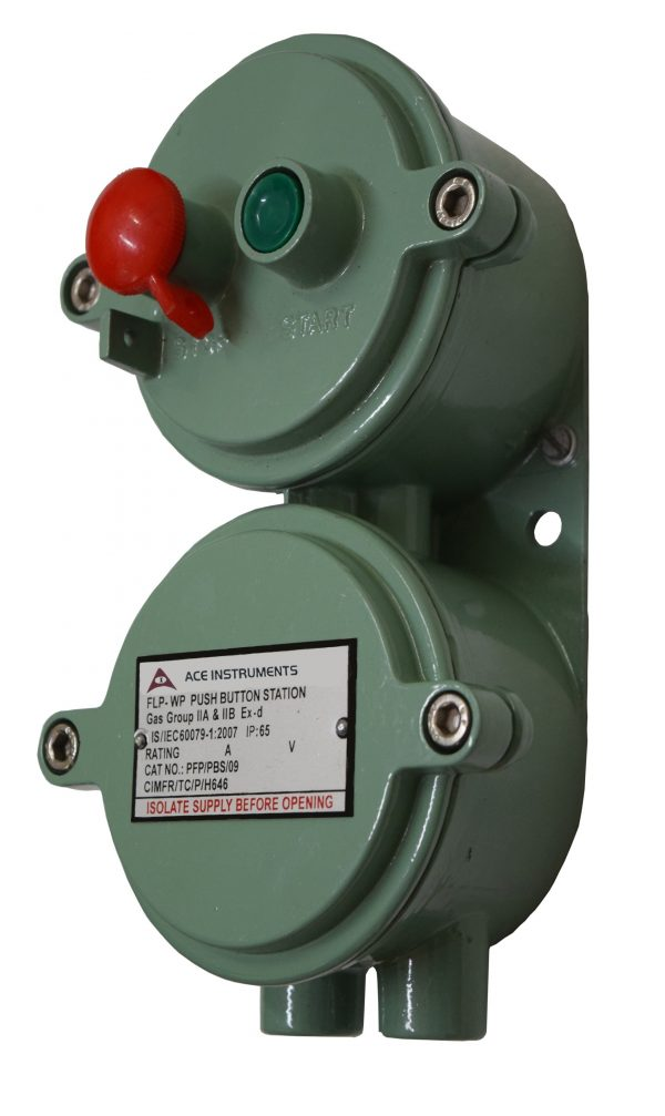 Ace Instruments,Flameproof Push Button Station,Flameproof Push Button Station Price List