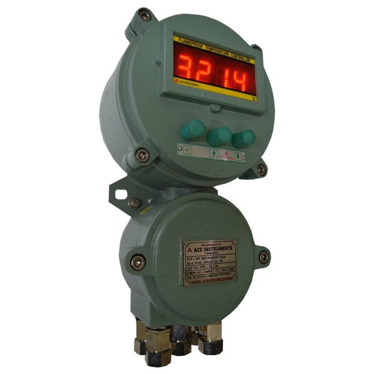 Flameproof Temperature Controller, FlP Temperature Controller