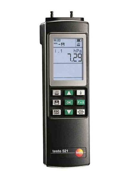 Testo 521-3 Differential Pressure Instrument