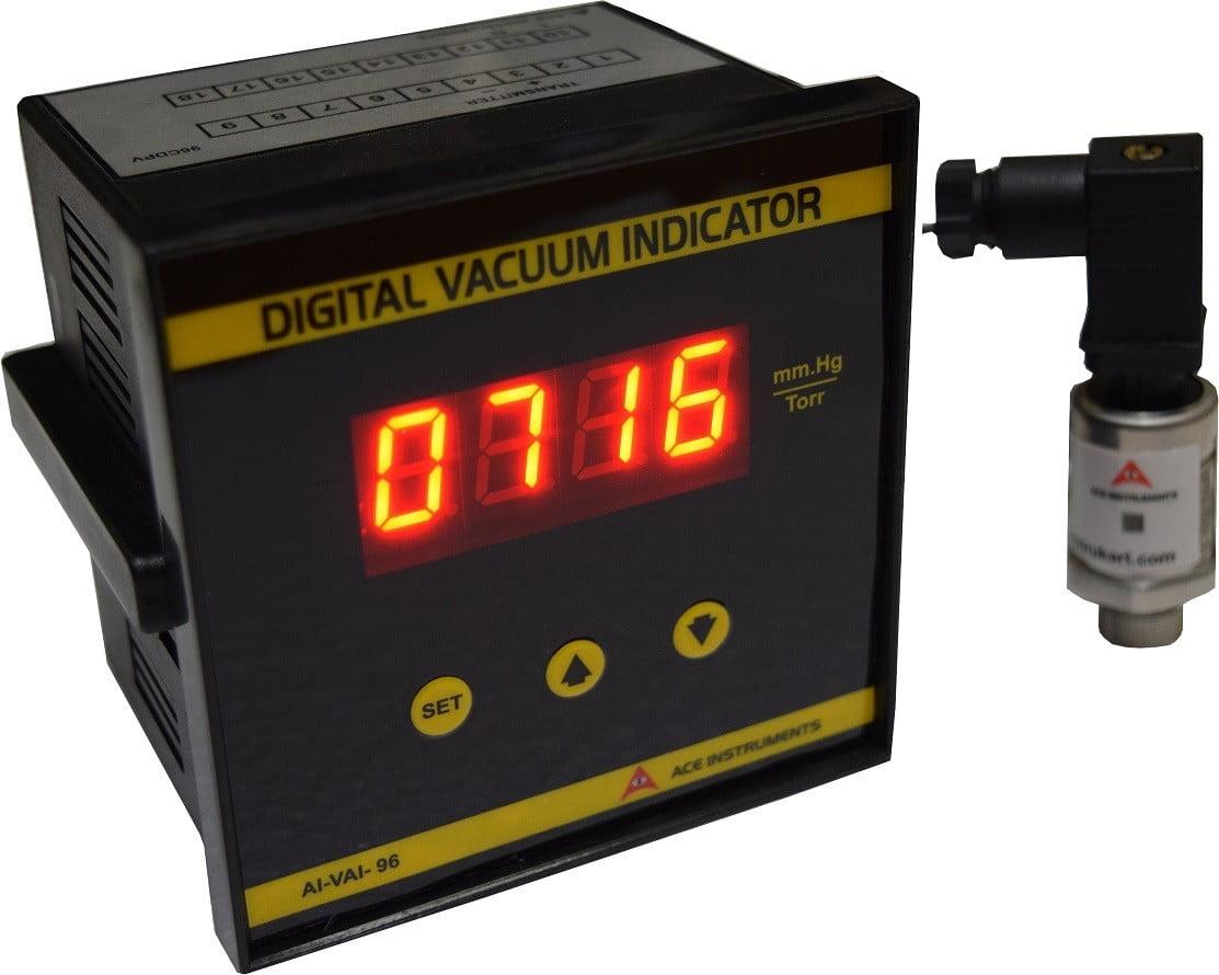 Digital Vacuum Indicator, Vacuum Indicator,  AI-VAC1