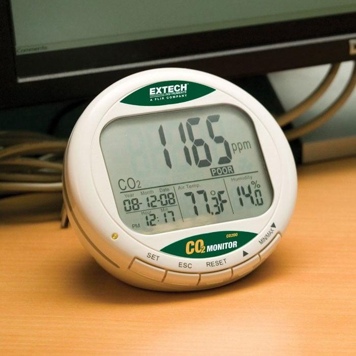 Extech CO200 CO2 Monitor