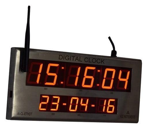 Ethernet, Date & Time Clock,Ethernet Clock,Digital Clock