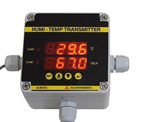 Warehouse Temperature and Humidity Monitor AI-RHTx Series