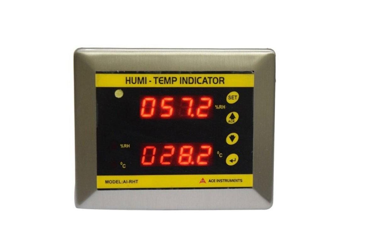 clean room temperature indicator clean room temperature detector clean room temperature monitor clean room RH indicator