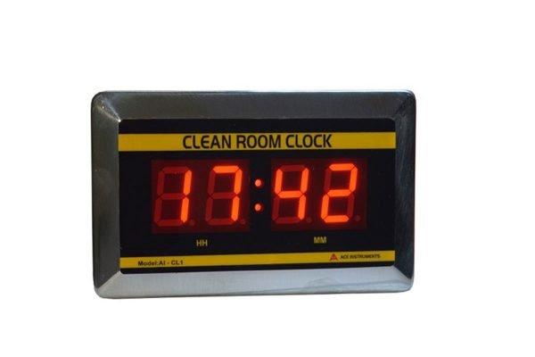 Clean Room Clock, AI-CL1,Clean Room Clock,Digital Clock,LED Display Clock