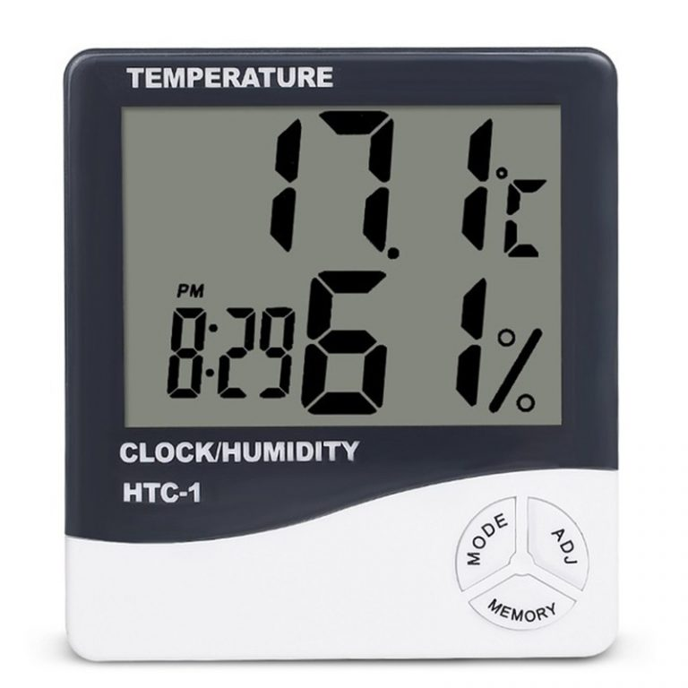 Buy HTC Thermo Hygrometer online, Portable thermohygrometer