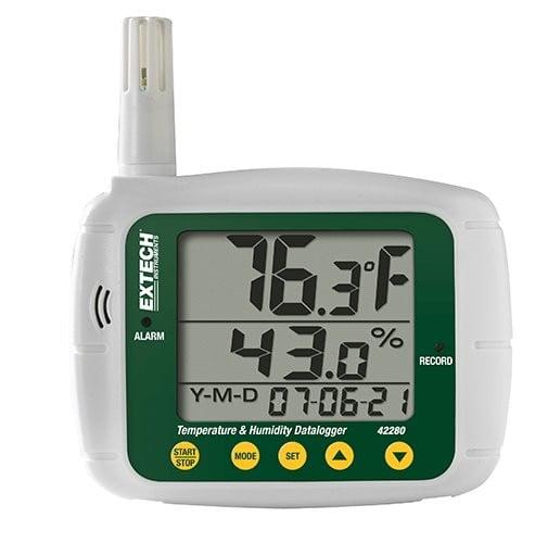 Extech Temperature & Humidity Data Logger