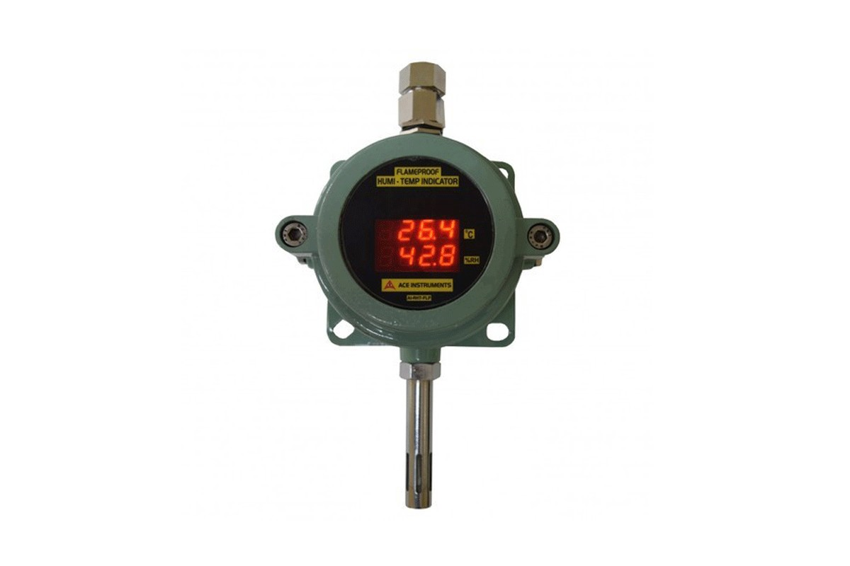 Flameproof Humidity & Temperature Indicator Transmitter,Flamproof Humdidty Transmitter