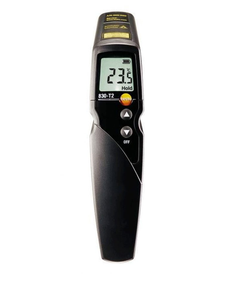 Buy Testo 830T2 Infrared Temperature Gun Online, Testo 830 T2