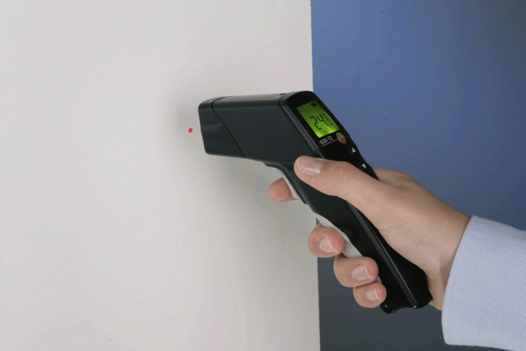 Testo infrared gun