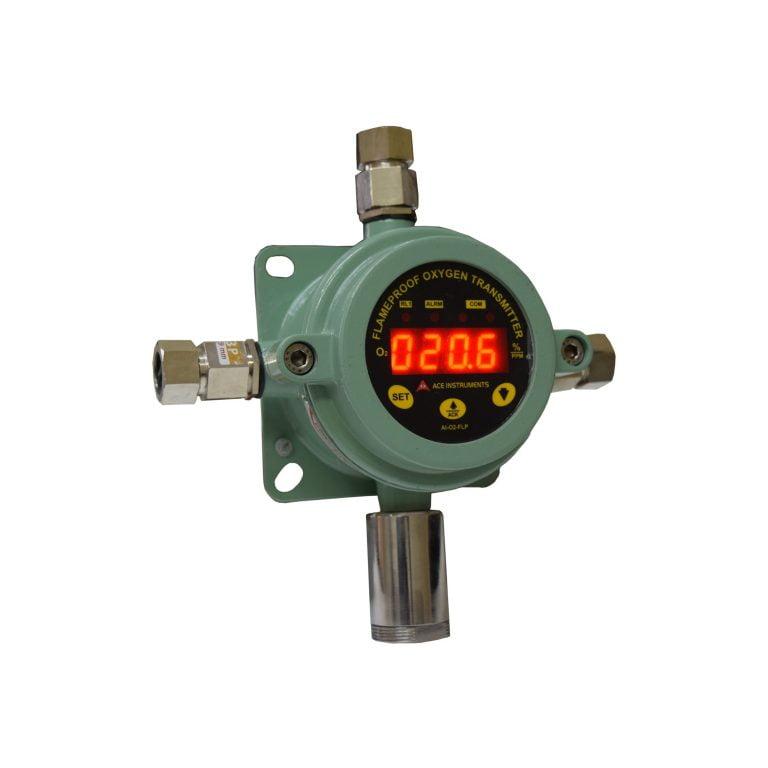 AI-02-FLP, Flameproof Oxygen Monitor