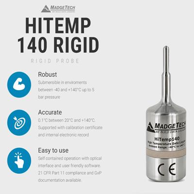 Madgetech Hitemp140 Data Logger
