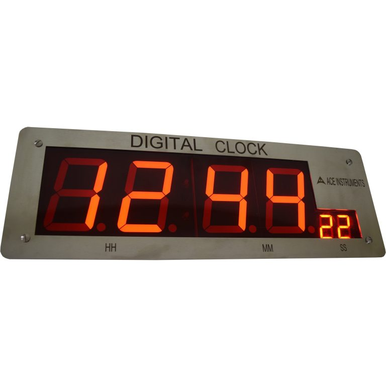 AI-CL4-ETH, Ethernet Clock with Windows Based Time Synchronization,PoE Clocks