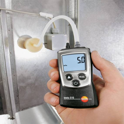 testo 510 set – differential pressure measuring instrument