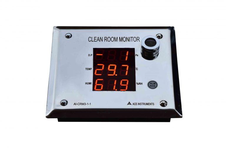 ACE Pharma Clean Room Monitor ai CRM1-1
