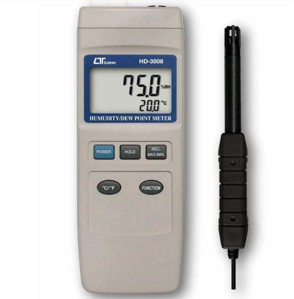 Lutron hd-3008 Hygrometer dew Point Meter