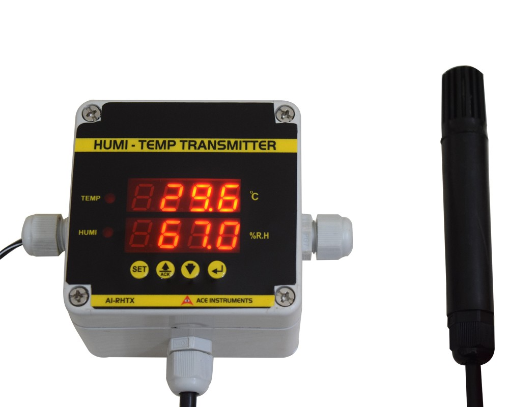 Server room temperature monitor, server room monitor