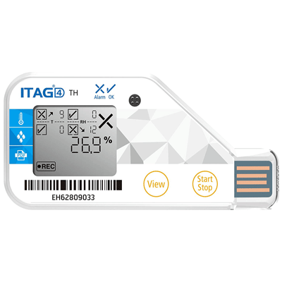 Tempsen Single Use Temperature-Humidity Data Logger idity Datalogger,Temperature Datalogger,Temperature Humidity Datalogger