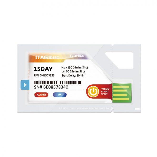 Tempsen Single Use Temperature Data Logger ITAG®3 Pro