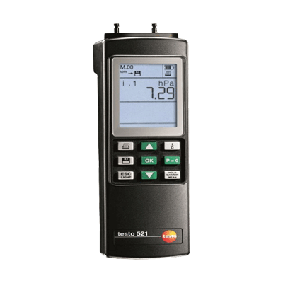 Testo 521-2 Differential Pressure Measuring Instrument