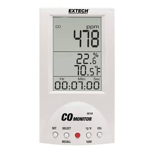 Extech CO50 Carbon Monoxide Meter
