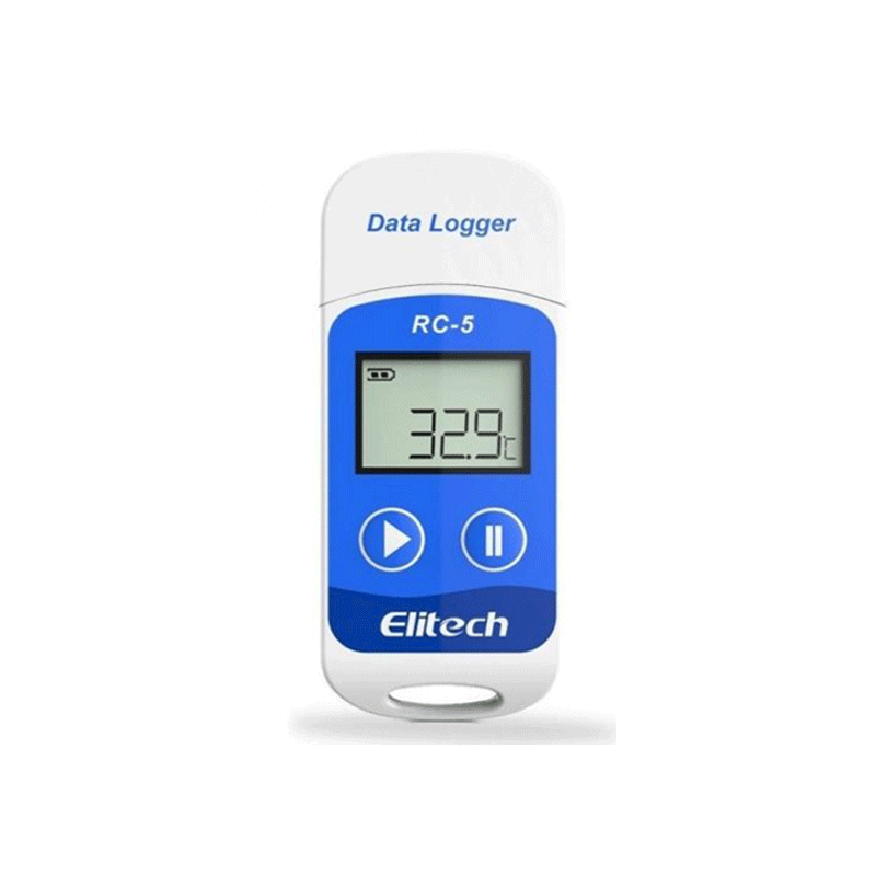data logger, data logger with display, elitech data logger, elitech temperature data logger, pharma Temperature Data Logger, rc5 data logger, Temperature recorders data loggers, Transport temperature data logger, Vaccine box data logger