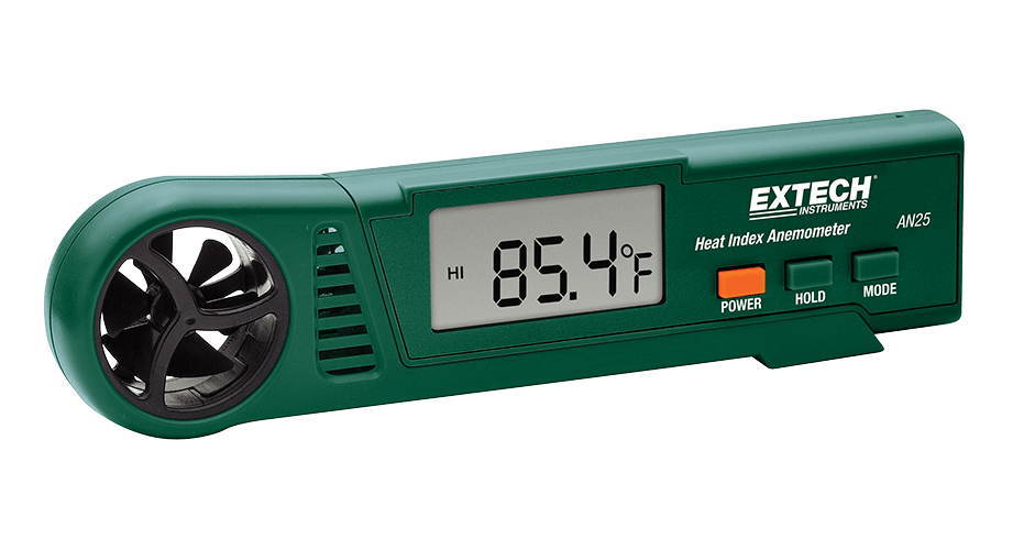 heat index anemometer, extech an 25,Pocket anemometer air velocity anemometer