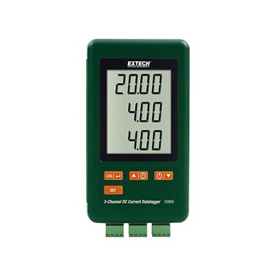 Extech SD900 3Channel DC Current Data Logger, Extech DC Current Data Logger