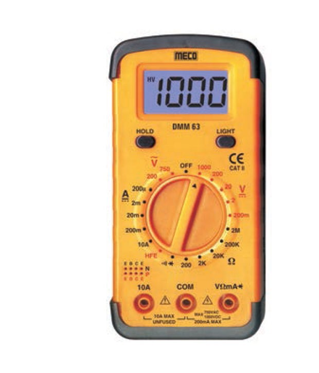 Meco 63 Digital Multimeter