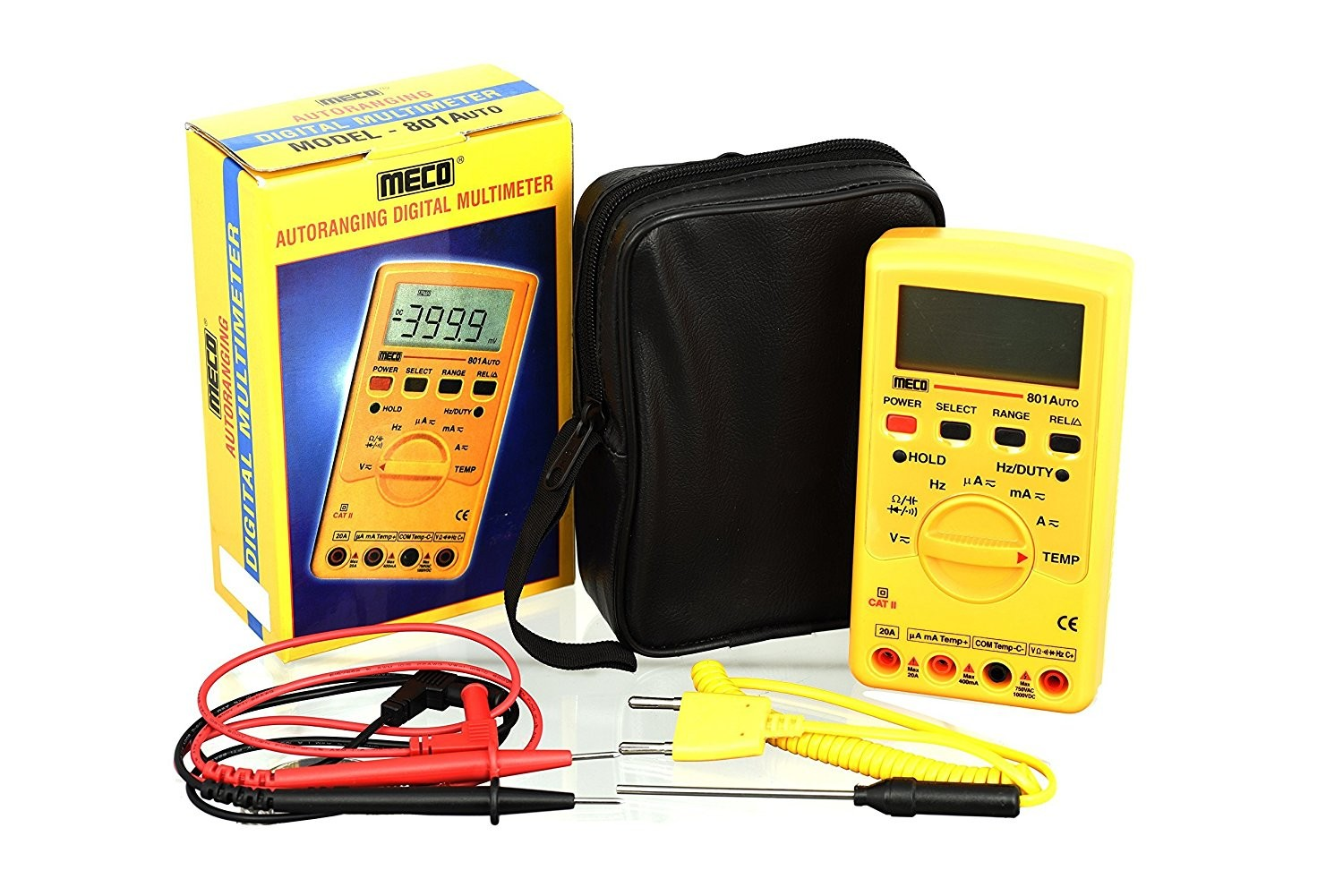 Meco 801 Digital Multimeter
