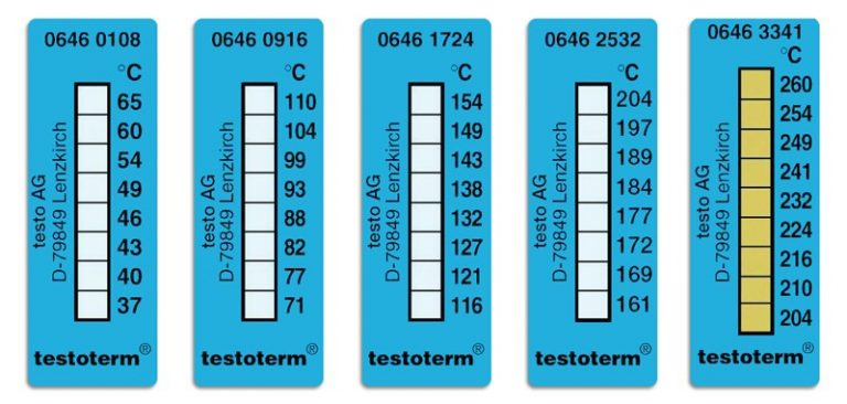 Testoterm Temperature Strips,Temperature Strips