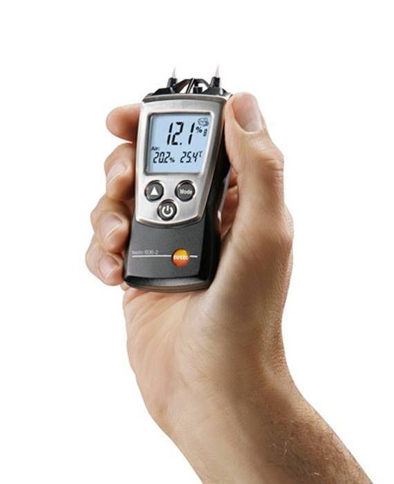 Testo 606-2 – Moisture meter for material moisture and relative humidity