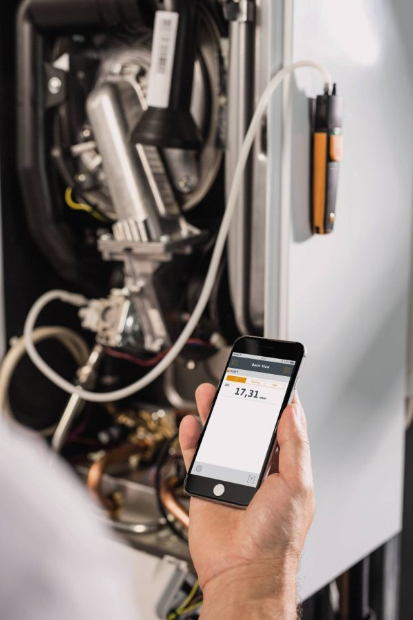 Testo 510 i – Differential Pressure Measuring Instrument with Smartphone Operation