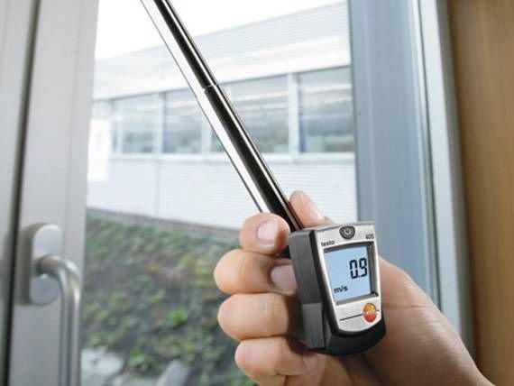 Pocket Sized Thermal Anemometer, Thermal Anemometer