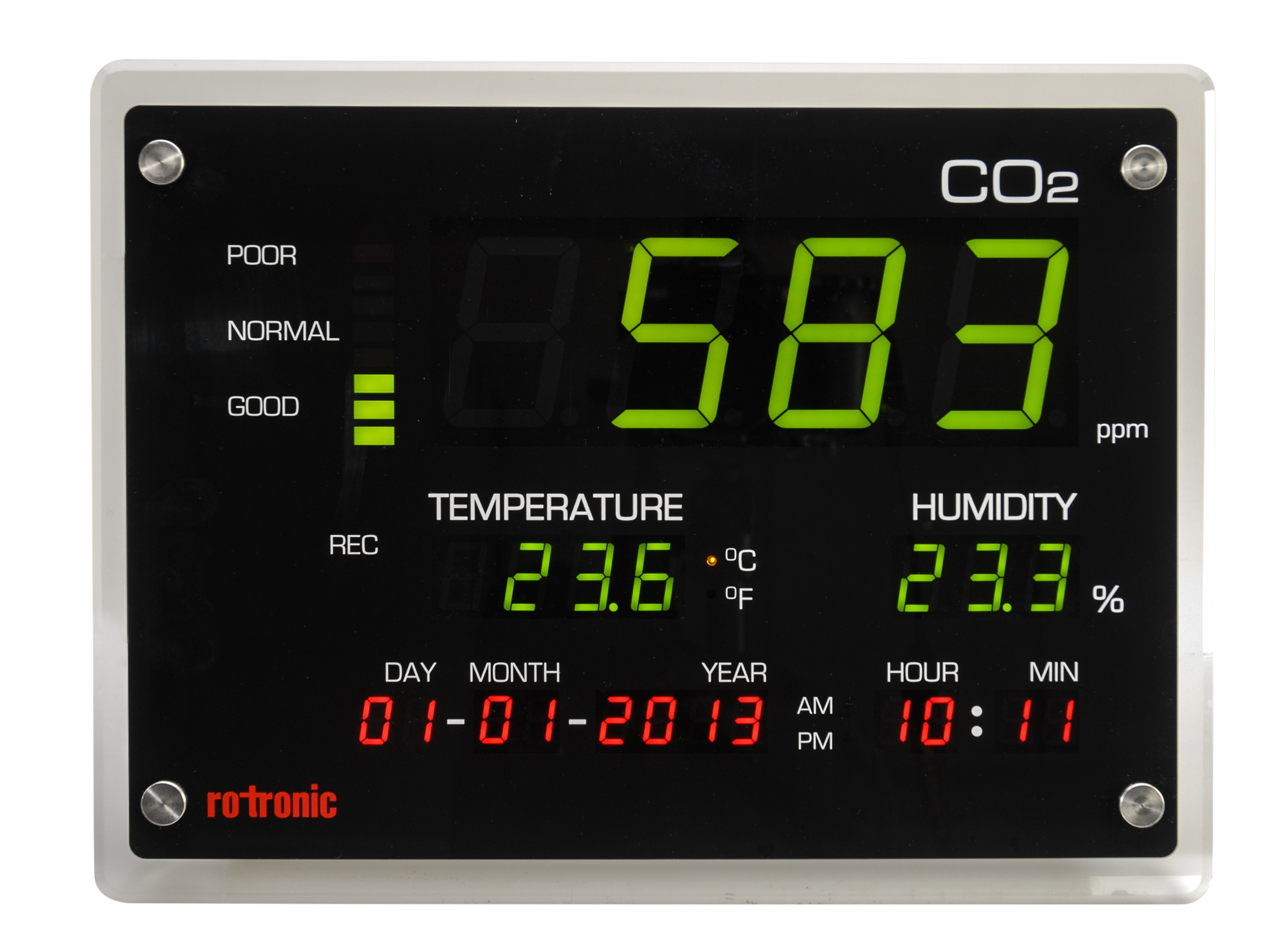 Rotronic CO2 Humidity Temperature Meter, Humidity Temperature Meter