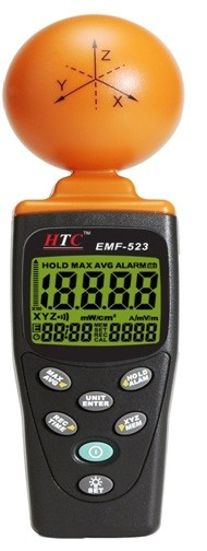 HTC 523 Electromagnetic Field Tester