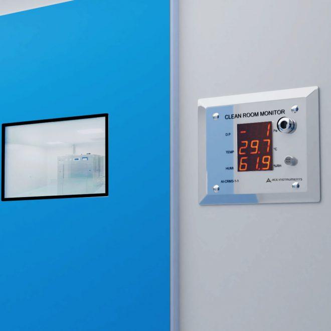 Ace AI-CRM 3-1-1 Pharma Clean Room Monitor