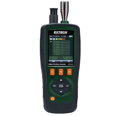 Extech VPC300 Air Particle Counter, Dust Particle Counter