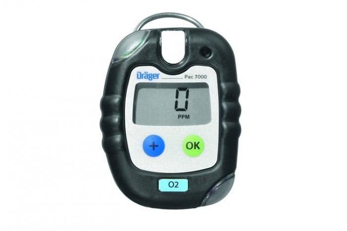 Dräger Pac® 7000, Portable 0₂ Gas Detector