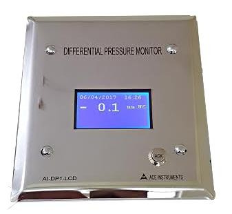 Differential Pressure Transmitter,Clean Room Monitoring System