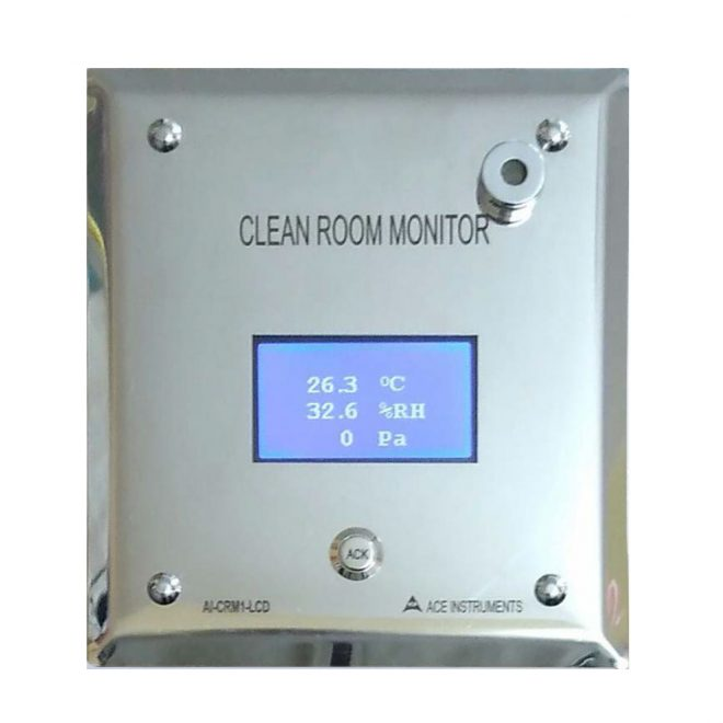 ACE AI-CRM1-LCD Clean Room Monitor