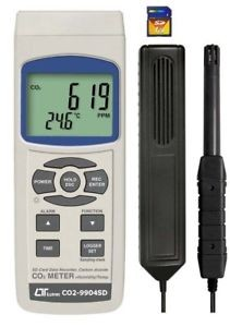 Lutron 9904 SD IAQ Monitor, Lutron 9904 SD, Indoor Air Quality Monitor