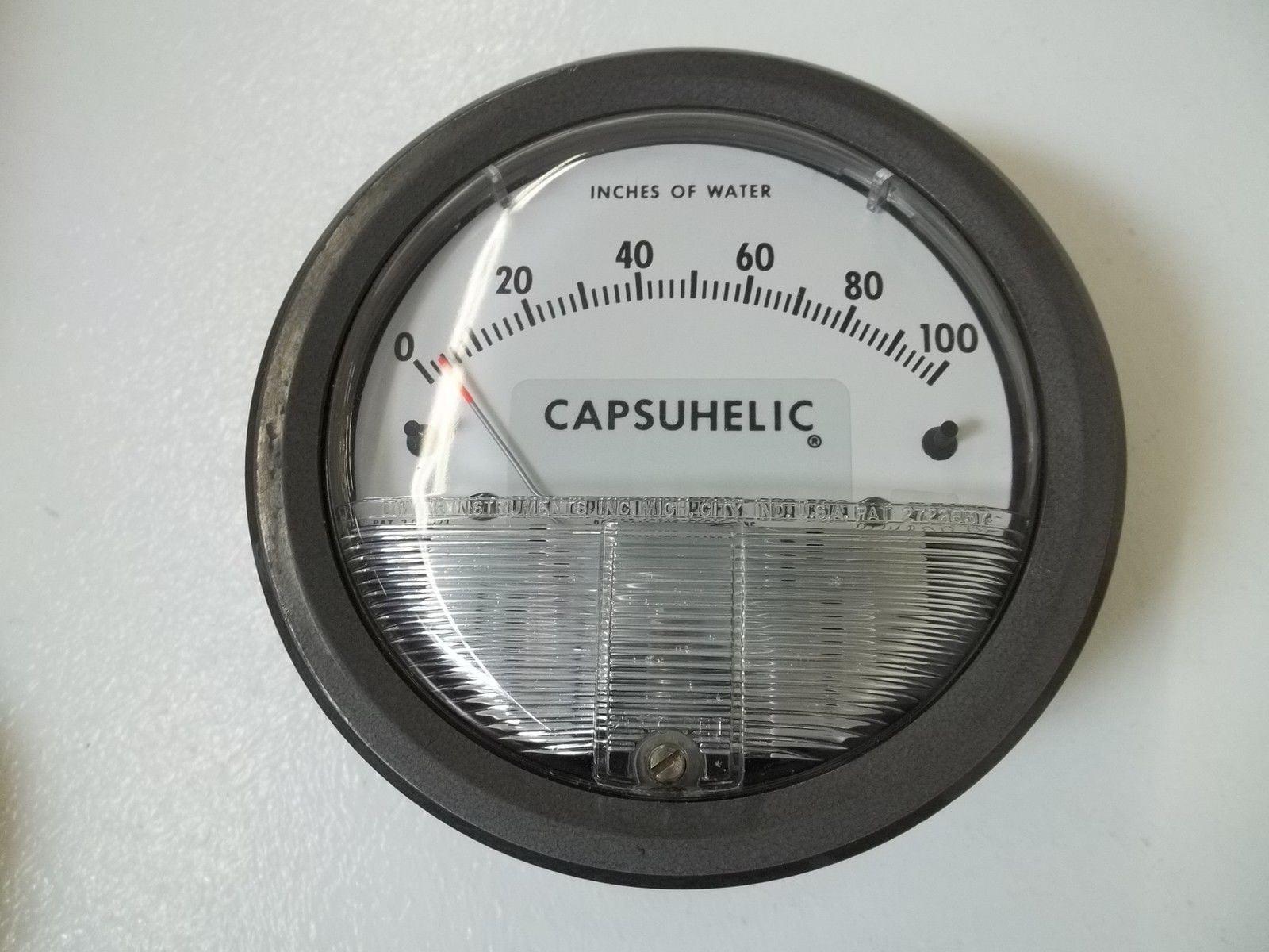 Differential Pressure Gauge, Capsuhelic Differential Pressure Gauge, Capsuhelic