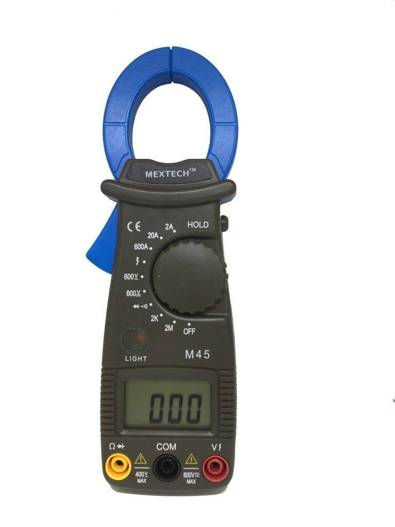 Mextech M 45 Digital AC Clamp Meter,Digital Clamp Meter,AC Clamp Meter