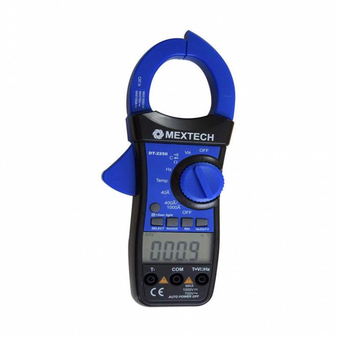 Mextech DT-2250 Digital AC Clamp Meter