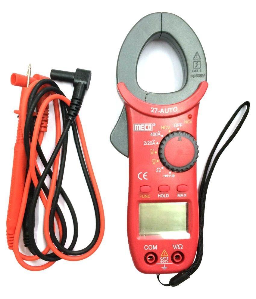 Digital AC Clamp Meter, Meco Auto Digital AC Clamp Meter