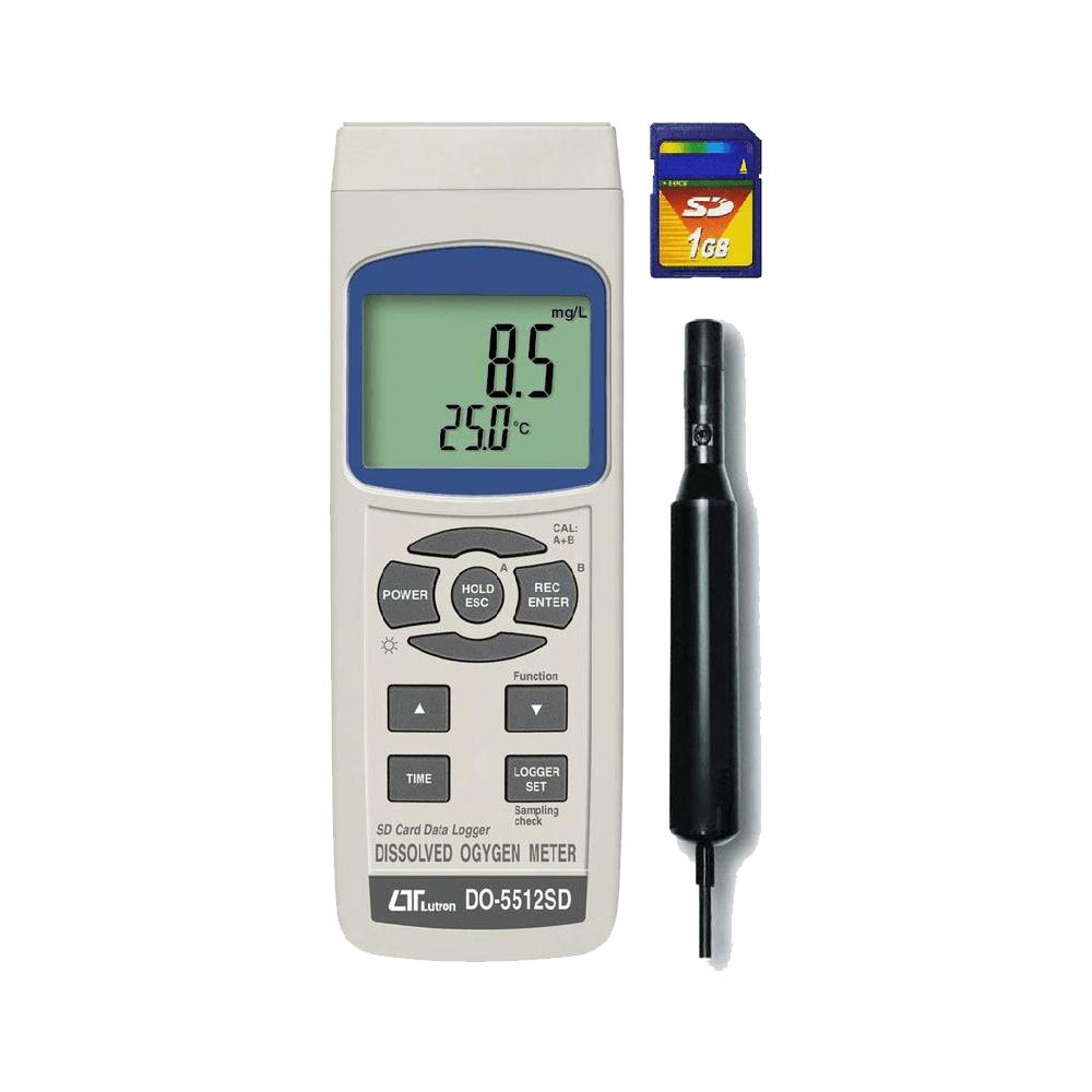Lutron DO 5512SD Dissolved Oxygen Meter