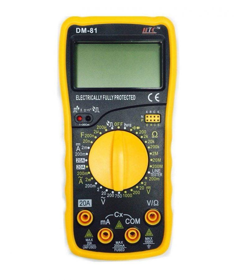 Digital Multimeter, HTC 81 Digital Multimeter