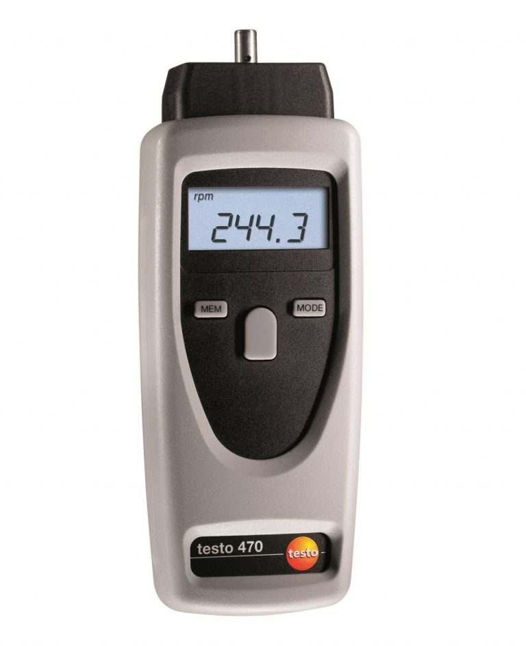 Testo 470 Digital Optical Tachometer
