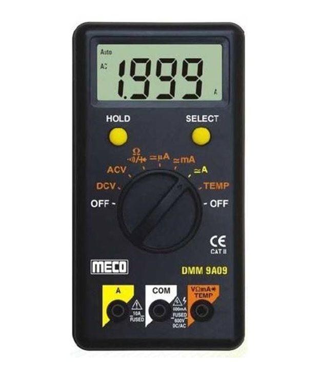 Meco 9A09, Meco 9A09 Digital Multimeter, Digital Multimeter